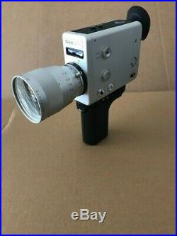 NIZO S800 with schneider lens vintage super 8mm movie cine film camera 1970s