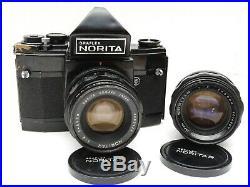NORITA 66 GRAFLEX 6x6 Medium Format SLR Camera withNORITAR 80mm f2.0 & 55 f4 Lens