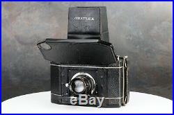 National Graflex Series II 120 Film Camera w B&L Tessar Lens The Lunch Box