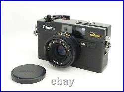 Near Mint Canon A35 Datelux Rangefinder Film Camera 40mm F/2.8 Lens from Japan