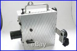Newman & Sinclair 35mm clockwork motorized 35mm cine camera + 3 Xpres lenses
