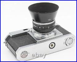 Nikon S2 35mm Film Rangefinder Camera with Nikkor-S. C 5cm F1.4 Lens & Case EP