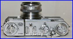Nikon S2 35mm Rangefinder Camera + Nikkor H-C 5cm f/2 Lens Fully Serviced 1955