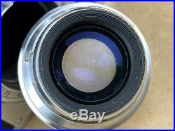 Nikon S2 Vintage Rangefinder Camera with 50mm f/2 Nikkor HC Lens Works Great