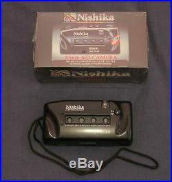 Nishika N9000 3D camera 35mm Quadra Lens System Factory Sealed