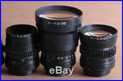 OKS (RO) LOMO Vintage for Soviet Camera ZASADA set of interchangeable spy lens