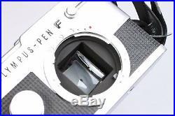 OLYMPUS PEN F 35MM HALF FRAME SLR CAMERA With 25MM F/4 ZUIKO LENS, STRAP