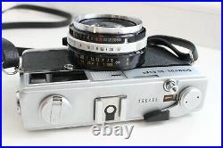 Olympus 35 SP Rangefinder 35mmm Film Camera 1.7/42mm lens