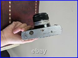 Olympus OM-1 35mm Camera Body and Olympus Zuiko 50mm F/1.8 Lens Vintage
