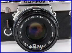 Olympus OM-1 MD 35mm SLR Camera withOM-System Zuiko Auto-S f1.8 Lens