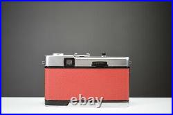 Olympus Trip 35 Film Camera with Zuiko 40mm f2.8 Lens Red Leather Serviced