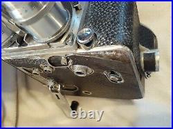 PAILLARD BOLEX 16mm MOVIE CAMERA Lens Pistol Grip Light Meter Leather Case FS