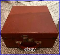 PAILLARD BOLEX H16 16mmMOVIE CAMERA, leather case, WITH lens, original manuals
