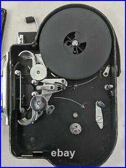 Paillard Bolex H16-F25 Vintage 3-Lens Film Camera 16mm