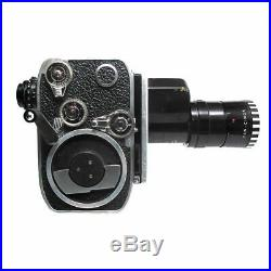 Paillard Bolex P2 Zoom Reflex Movie Camera with Som Berthiot Pan-Cinor Lens