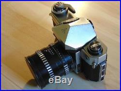 Pentacon Super Spiegelreflexkamera Kamera Nr. 2231 Objektiv Lens Pancolar 1,4/55