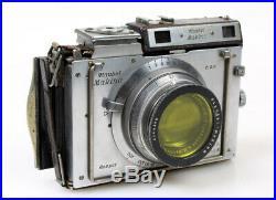 Plaubel Makina II S Rare Vintage 6.5x9 Folding Camera with 2.9 100mm Lens
