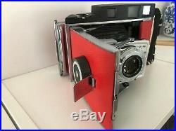Polaroid Converted 110A Film Camera With 14.7 f=127mm Lens Rodenstock Ysarex
