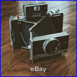 Polaroid Land Camera Model 195 Tominon 114mm F/3.8 Lens