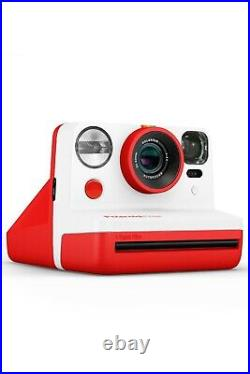 Polaroid Now iType Red Instant Camera + 2-lens system with new film BNIB