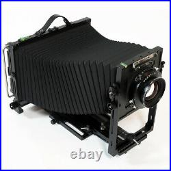 Professional Frica 410L 4x10 Metal Camera Large Format with Lens Board Adapter