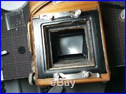R. B. Graflex Series D 3x4 Retrofit 4x5with Kodak aero 178 2.5 Lens