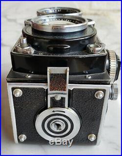 RARE Rolleiflex 2.8F TLR Film Camera with f2.8 Xenotar 80mm lens No Reserve