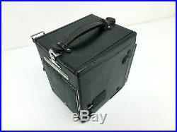 RB Super D Graflex Camera with Graflex Film Pack Adapter Kodak f-4.5 Lens