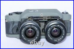 RBT Model X4 3D 35mm Stereo Camera with Twin 35-70mm zoom lenses & accessories