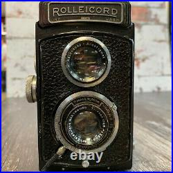 ROLLEICORD 1A K3 531 MODEL 3 TLR CAMERA with75mm F4.5 TRIOTAR Lens