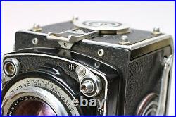 ROLLEIFLEX 2.8E 6x6CM TLR TWIN LENS REFLEX CAMERA with XENOTAR 80mm f/2.8 LENS