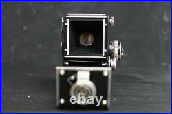 ROLLEIFLEX 2.8E TLR CAMERA PLANAR 80mm f2.8 LENS with case