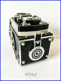 ROLLEIFLEX 3.5E (Type 2) TLR Camera with Zeiss Planar Lens 75mm & Case