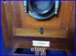 Rare Antique Wood Camera Made by G. Gennert Burlington 1893 with Unicum Lens