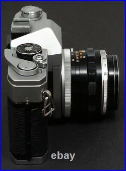 Rare Canon FX 35mm Film SLR Camera c/w FD 50mm f/1.8 FL Lens Kit Vintage