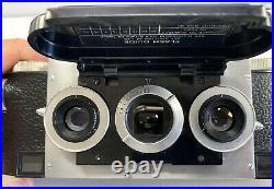 Rare Exc+ Realist Custom Stereo Camera F2.8 Lens