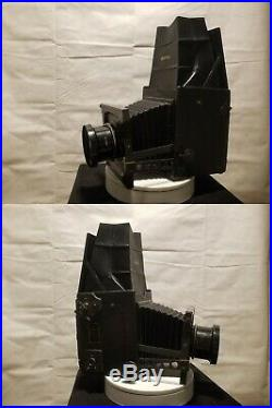 Rare Home Portrait Graflex Camera with Portrait Lens full listing beow