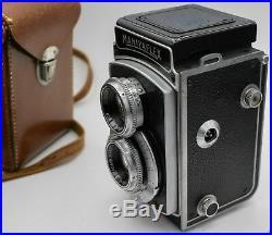 Rare Mamiya Mamiyaflex II 120 Film TLR Camera with Setagaya Sekor 7.5cm. F3.5 Lens