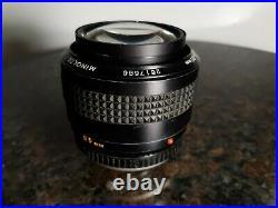 Rare! Vintage Minolta MC ROKKOR-X 11.7 F=85mm Camera Lens