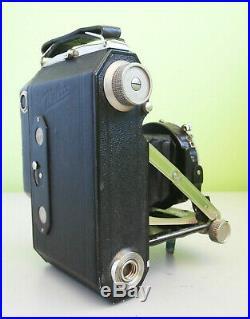Rare Welta Weltur Rangefinder Folding Camera 6x4.5 with Xenar 7,5cm f2.8 Lens