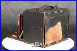 Rochester Optical Co. Reko 4x5 Folding Box Camera with Wollensak Lens & Shutter