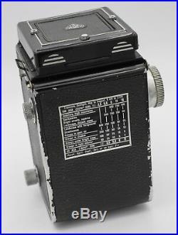 Rollei Rolleicord III K3B 120 Film TLR Camera with Schneider Xenar 75mm F3.5 Lens