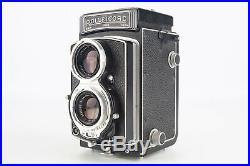 Rollei Rolleicord IV 6x6 TLR Medium Format Camera Xenar 75mm Lens Cap Case V01