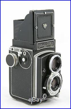 Rollei Rolleicord Va vintage 6x6 twin lens camera, lens Schneider Xenar 13.5/75