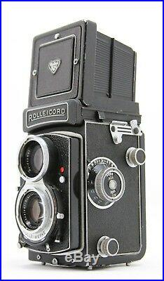 Rollei Rolleicord Vb, 6x6 Waist Level camera, lens Schneider Xenar 13,5/75