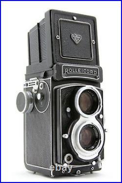 Rollei Rolleicord Vb White Face 6x6 WLF camera, lens Xenar 13,5/75 + extra's