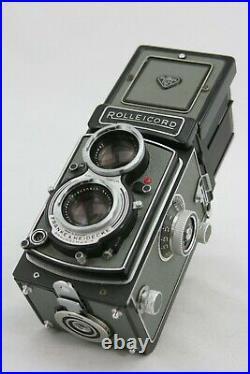Rollei Rolleicord Vb vintage 6x6 camera, Xenar lens + Rolleicopi + Polaroid back
