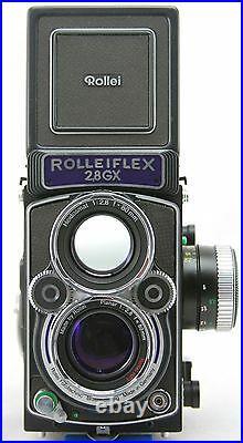 Rollei Rolleiflex 2,8 GX Expression vintage TLR 6x6 camera, lens HFT Planar 80mm