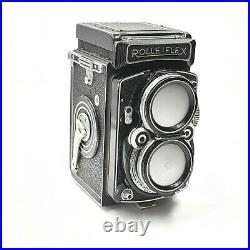Rollei Rolleiflex 2.8C Zeiss Planar TLR Twin Lens 120 Film Camera Vintage