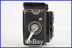 Rollei Rolleiflex 2.8E TLR 120 Medium Format Camera with Zeiss Planar Lens V01